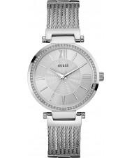 Guess W0638L1 Ladies soho srebrna bransoleta ze stali zegarek