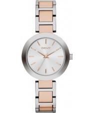 DKNY NY2402 Panie stanhope two tone stalowa bransoleta zegarka