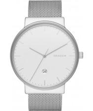 Skagen SKW6290 Mens ancher srebrny zegarek z siatki stalowej