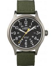 Timex T49961 Mężczyźni wyprawa scout zielony zegarek