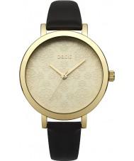 Oasis B1544 Panie czarny skórzany pasek do zegarka
