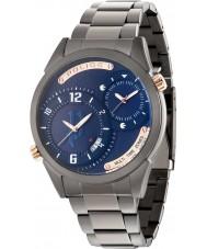 Police 14540JSU-03M Mężczyźni dugite stalową bransoletę zegarka brązu
