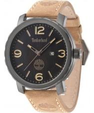Timberland 14399XSU-02 Mężczyźni pinkerton brązowy skórzany pasek do zegarka