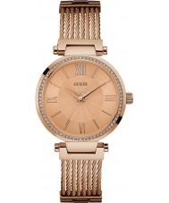 Guess W0638L4 Panie Soho wzrosła pozłacane bransoletę zegarka