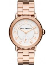 Marc Jacobs MJ3471 Panie Riley wzrosła pozłacane bransoletę zegarka