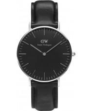 Daniel Wellington DW00100145 Klasyczne czarne Sheffield 36mm Zegarek