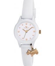Radley RY2320 oglądać go Panie! biały pasek na zegarek z róży złocisty pasemkami