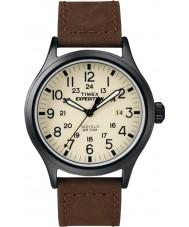 Timex T49963 Mężczyźni wyprawa scout brązowy zegarek