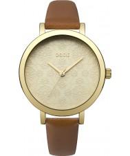 Oasis B1545 Panie tan skórzany pasek zegarka