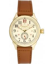 Minster 1949 MN03GLGL10 Mężczyźni Boyland tan skórzany pasek zegarka