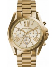 Michael Kors MK5605 Panie Lexington pozłacany zegarek chronograf