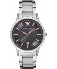 Emporio Armani AR2514 Mężczyźni ubierają Srebrna bransoleta ze stali zegarek