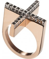 Edblad 82807 dada Women wzrosła złoty pierścionek - Rozmiar n (s)