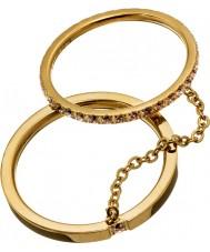 Edblad 41530045-M Women błyszczące złote pierścienie - wielkość p (m)