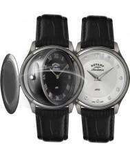 Rotary LS02970-10-07 Panie objawienia zegarek