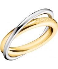 Calvin Klein Podwójny pierścionek dla kobiet