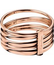 Calvin Klein KJ2GPD10010S Panie wystawne różowe złoto bransoletka