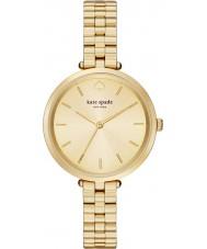 Kate Spade New York 1YRU0858 Panie holland pozłacana bransoletka zegarek