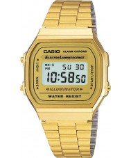 Casio A168WG-9EF Kolekcja Klasyczna pozłacany zegarek cyfrowy