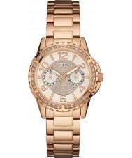 Guess W0705L3 Panie Sassy wzrosła pozłacane bransoletę zegarka