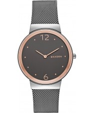 Skagen SKW2382 Freja Women szara stalowa bransoletka zegarek