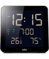 Braun BNC014BK-RC Globalny sterowane radiem zegar ścienny - czarny