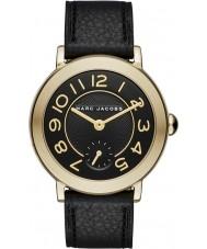 Marc Jacobs MJ1471 Panie Riley czarny skórzany pasek zegarka