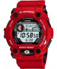 Casio G-7900A-4ER Mężczyźni G-Shock G-ratownicza czerwony zegarek