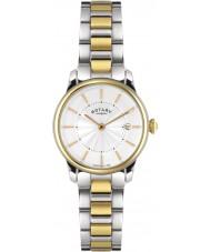 Rotary LB02772-06 zegarki damskie locarno dwa tonu stalowy zegarek