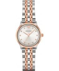 Emporio Armani AR1962 Panie klasycznym two tone stalowa bransoleta zegarka