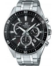 Casio EFR-552D-1AVUEF Mężczyźni gmach premii srebrny zegarek chronograf