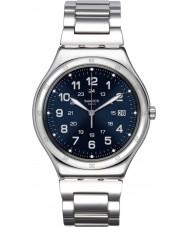 Swatch YWS420G Mens niebieski zegarek łodzi