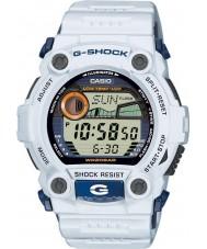 Casio G-7900A-7ER Mężczyźni G-Shock G-ratownicza biały zegarek