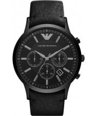 Emporio Armani AR2461 Klasyczne męskie chronograf czarny zegarek