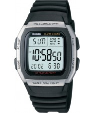 Casio W-96H-1AVES Kolekcja Alarm Chronograph zegarek