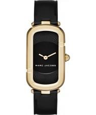 Marc Jacobs MJ1484 Panie Jacob Black skórzany pasek zegarka