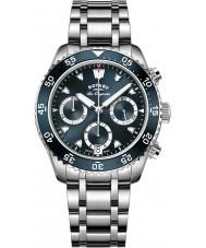 Rotary GB90170-05 Męskie zegarki spuścizna srebrny zegarek chronograf