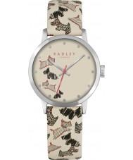Radley RY2367 Panie Fleet Street pasek skórzany zegarek śmietanka