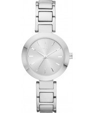 DKNY NY2398 Panie Stanhope Srebrna bransoleta ze stali zegarek