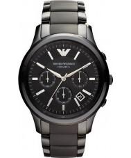Emporio Armani AR1452 Mężczyzna ceramiczny czarny zegarek chronograf