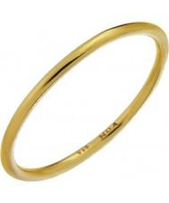Nordahl Jewellery 125233-52 Ladies złota platerowana pozłacany pierścień - rozmiar L