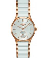 Roamer 677855-49-15-60 Panie ceraline biały ceramiczny zegarek bransoletka