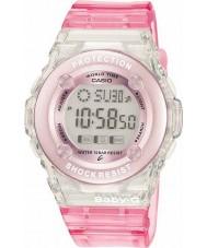 Casio BG-1302-4ER Panie baby-g różowy zegarek chronograf