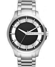 Armani Exchange AX2179 Mężczyźni ubierają Srebrna bransoleta ze stali zegarek