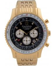 Krug-Baumen 600103DS Mężczyźni podróżnego powietrza diamond watch