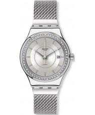 Swatch YIS406GB Sistem stalac S srebrny zegarek bransoleta ze stali