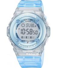 Casio BG-1302-2ER Panie baby-g niebieski zegarek chronograf