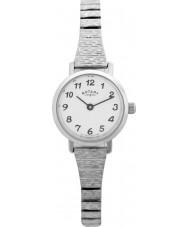 Rotary LBI0761 Panie zegarki bransoleta zegarka stalowy rozszerzalnej