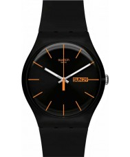 Swatch SUOB704 New Gent - ciemny buntownikiem zegarek