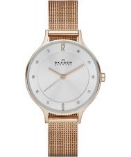 Skagen SKW2151 Anita Women wzrosła złoty zegarek siatkową